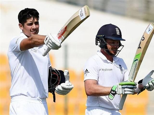 England Test Captain Alastair Cook's third double-hundred in Tests