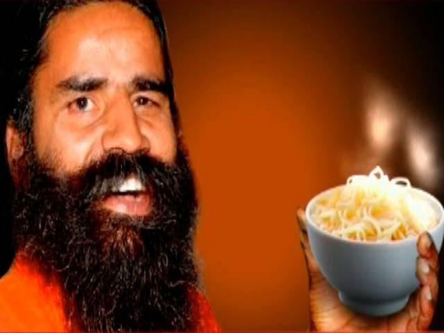 Baba Ramdev will come in November flour noodle