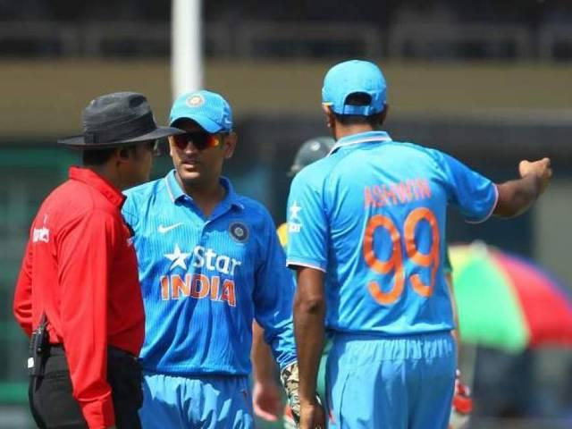 decision on umpire vineet kulkarni will be after series