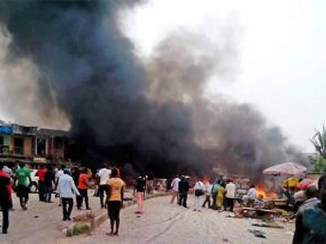 30 pepole dead in bom blast