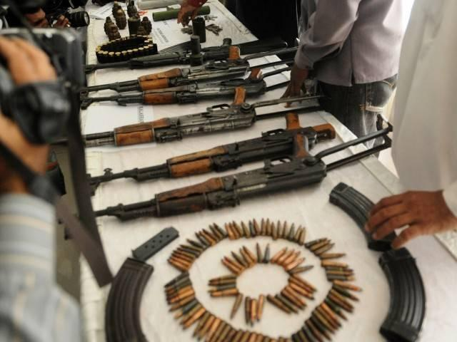 A militant hideout busted in Jammu and Kashmi, eight weapons, 20 kg explosives seized