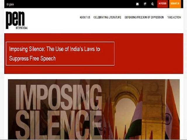 PEN International stands in solidarity with Indian writers