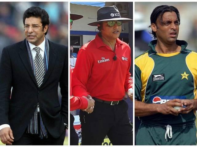 ICC Withdraws Pakistan Umpire Aleem Dar, Wasim Akram And Shoaib Akhtar Refuse to Commentate in Fifth ODI