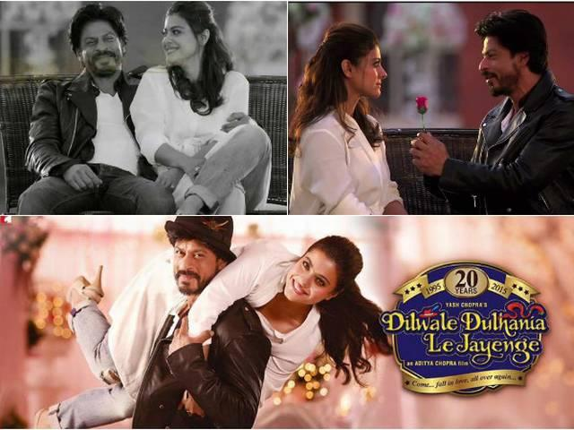 #20YearsOfDDLJ | Shah Rukh Khan and Kajol are still holding on to each other!