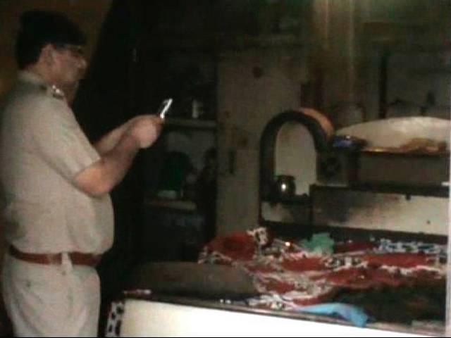 Dalit family burnt alive in Faridabad