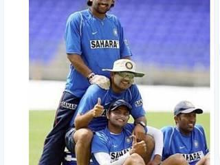 VIRENDER SEHWAG_cricketer_reaction_ANIL KUMBLE