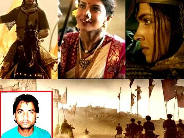 Murder convict Anil Giri worked as a 'spot boy' on the sets of Bhansali's Bajirao Mastani! Arrested