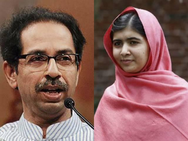 if malala comes india we will welcome her shiv sena