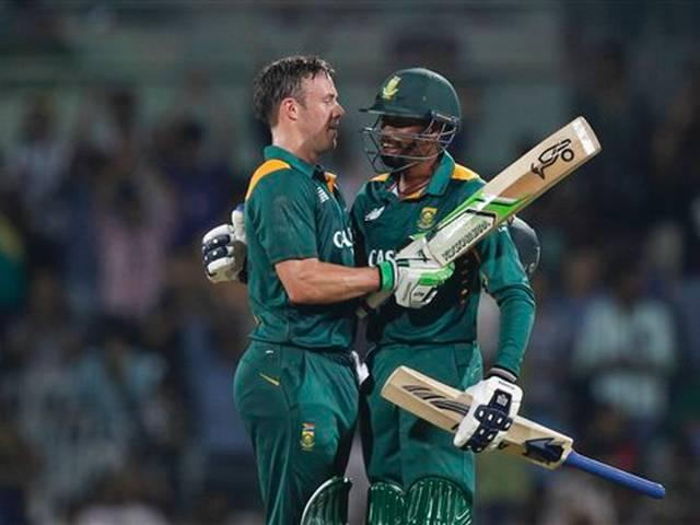 A.B. de Villiers create history for south africa