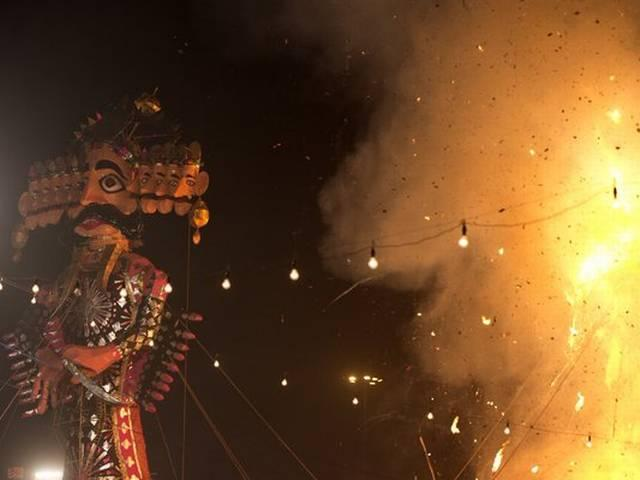 festival of victory of good over evil Dussehra celebrated across the country