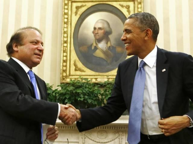 Obama,-Sharif advocated to resolve outstanding issues between India and Pakistan