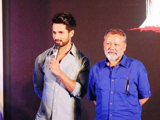 shahid kapoor was nervous to work with pankaj kapur
