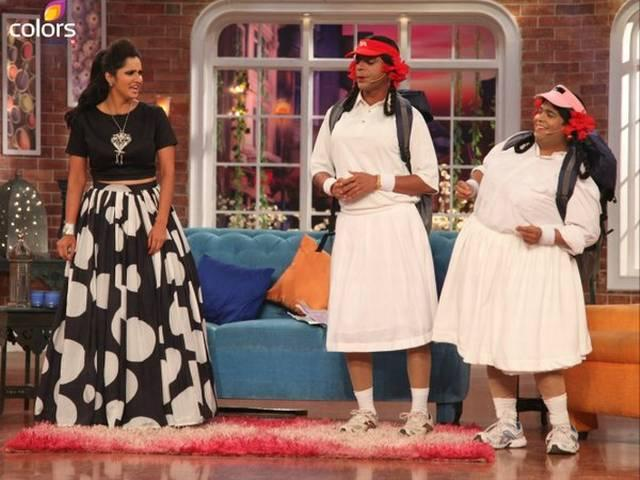 sania mirza on comedy nights with kapil
