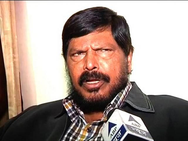 ramdas athawale demands weapons for dalit security