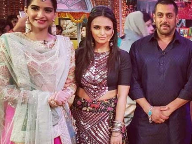 Salman and sonam on comedy night wid kapil