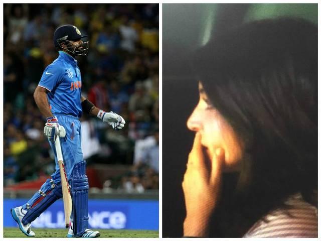 VIRAT KOHLI_ANUSHKA SHARMA_cricket_match