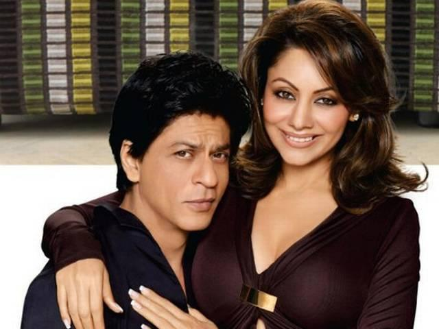 shahrukh khan says thank you to his wife on their marriage anniversery