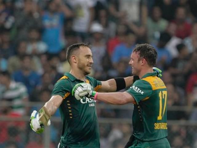 Du Plessis hundred was the best of the three: De Villiers