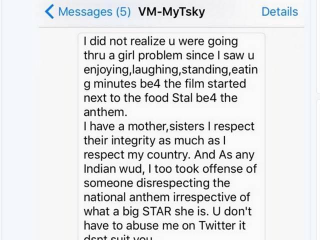Kushal Tandon Vs Ameesha Patel – Twitter War Over Disrespecting National Anthem