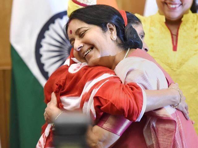 Deaf-mute Geeta reached in Delhi from Pakistan