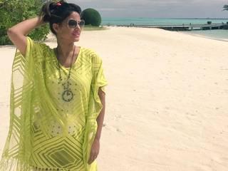 hina khan on vacation