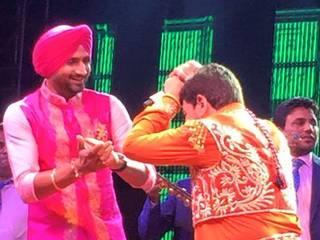 harbhajan singh shares marriage pics and geeta basra's bachelorette pic is out