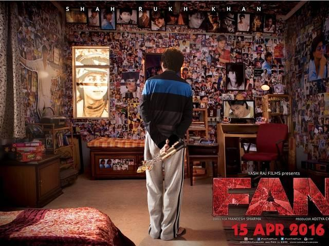 SRK's 'Fan' poster out