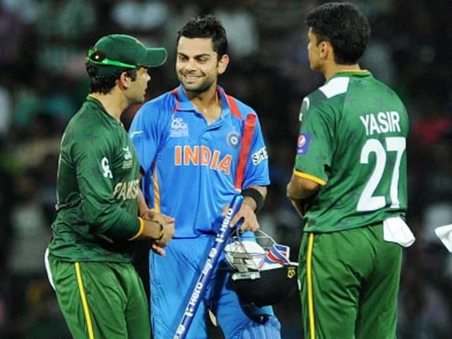 healthy fight between team india and pakistan