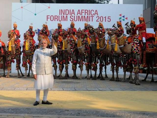 PM Modi announces concessional credit of USD 10 billion over the next five years for Africa