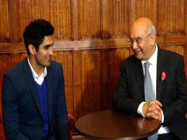 Vijender Singh Visits The House of Commons