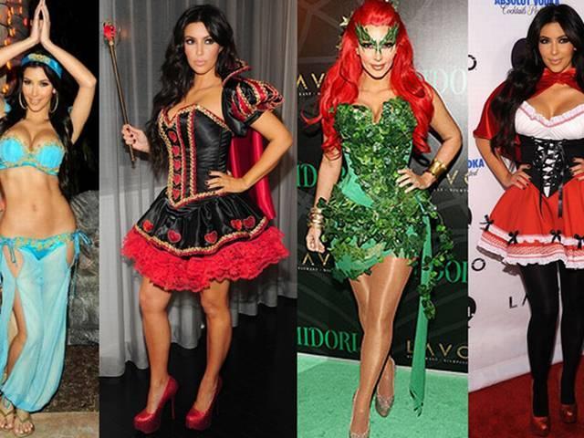 Hollowen Special: kim kardashian's best hollowen looks