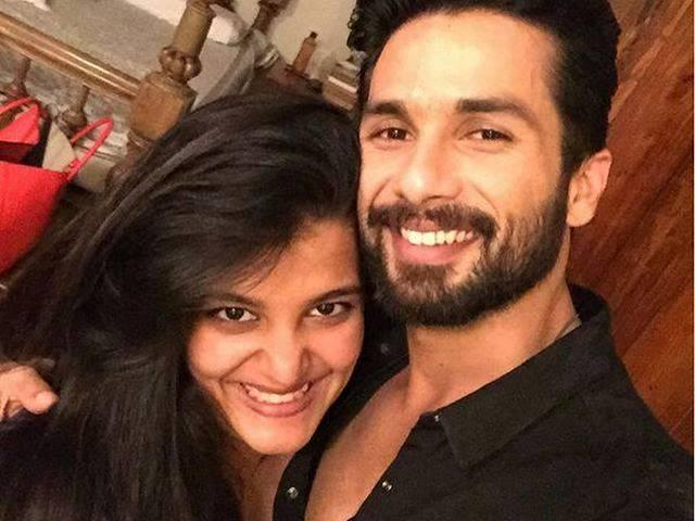 shahid's sister Sanah to debut on TV