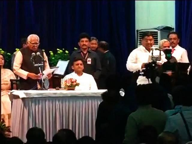 cabinet reshuffle : 11New ministers had taken oath today in UP