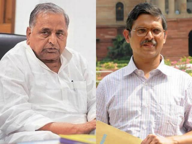 clean chit to Mulayam SinghAmitabh Thakur will sit on protest