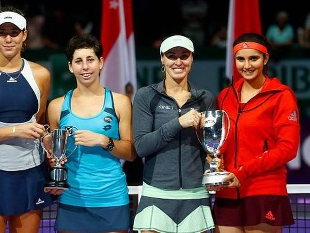 Unstoppable Sania Mirza-Martina Hingis strom into tenth final of the year