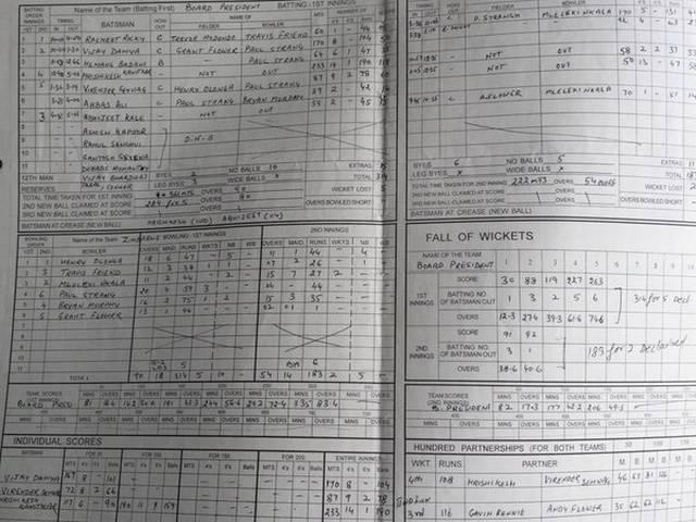 Virender Sehwag uncovers score sheet of match after which he got India call-up