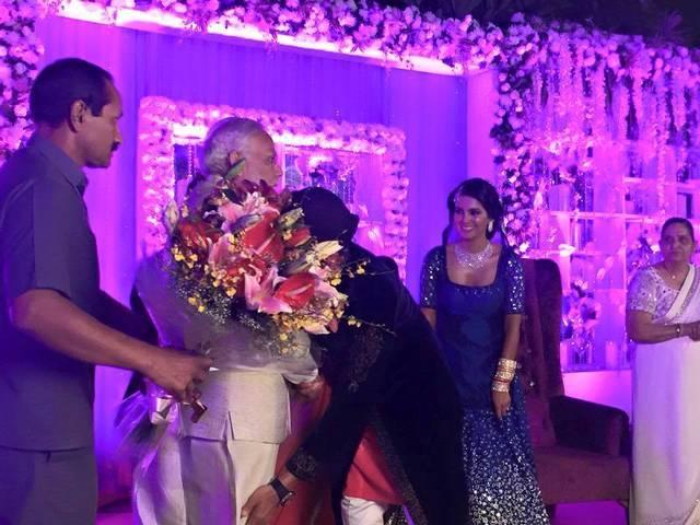 harbhajan reception party