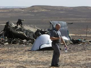 wrckage of crashed russian plane found