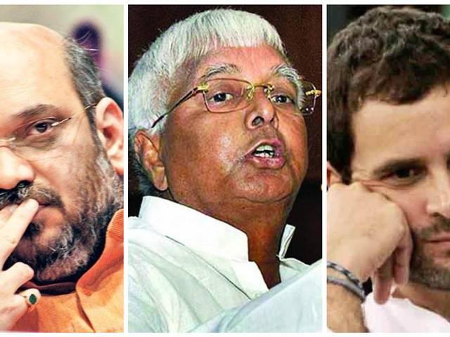 Bihar polls: EC sends notice to Amit Shah, Lalu Prasad and Rahul Gandhi