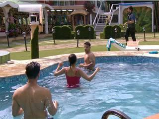 big boss 9- keith & rochelle in the pool, hottest pics