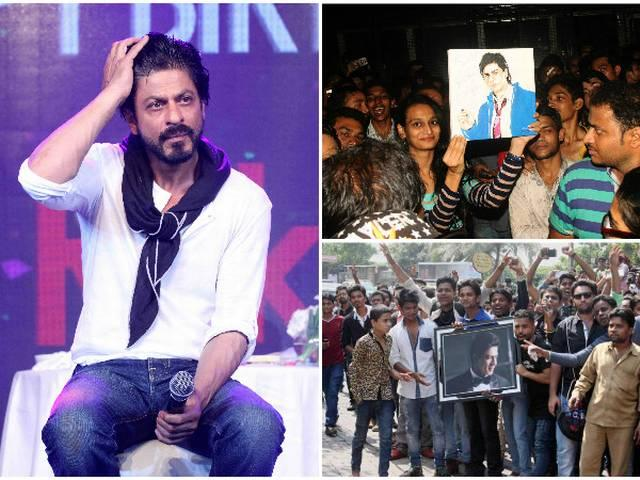 On 50th birthday, Shah Rukh Khan advise fans, 'Don't do cheap things and don't abuse other stars'