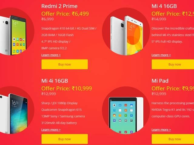 Xiaomi Re 1 flash sale at 2PM and 6PM today