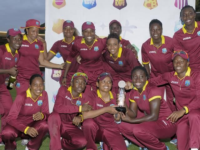 West Indies win after team hat-trick