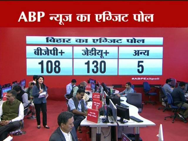 bihar election: All channels exit poll