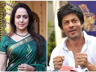 Hema Malini and bollywood celebs came in favour of SRK over Intolerance remark