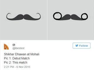 TWITTER TROLLS SHIKHAR DHAWAN