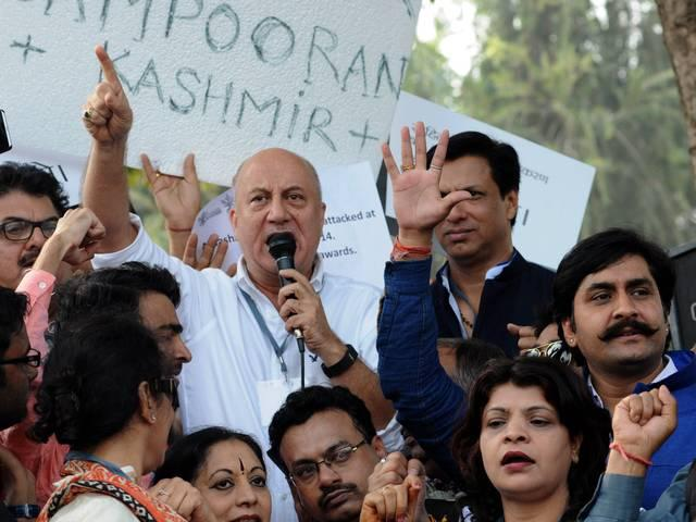 Anupam Kher_March_Against_Intolerance