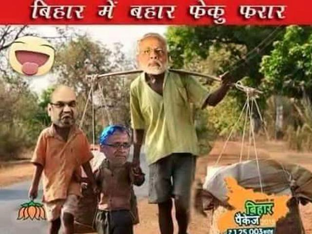 Twitter reacts to Bihar Elections 2015
