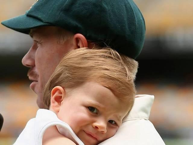 David Warner and Nathan Lyon