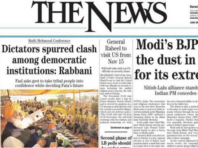 BJP defeat in Bihar elections is good news, says Pakistani daily